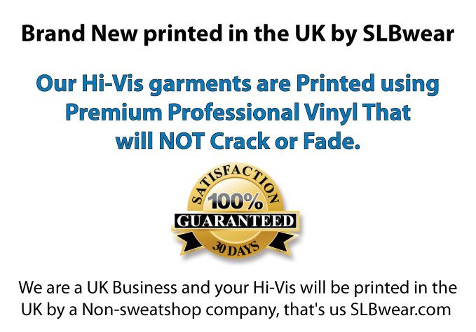 Simply Loveleh Brotherhood Hi-Vis printers.Produced and Dispatched in the UK